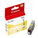 Cartouche d'encre originale  -  CANON 521 Y/CLI521Y  -  jaune  -  (2936B001)