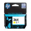 Cartouche d'encre originale  -  HP 364  -  jaune  -  (CB320EE)