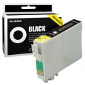 Cartouche d'encre compatible  -  EPSON T0711/T0891  -  noir  -  (C13T07114011/C13T08914011)